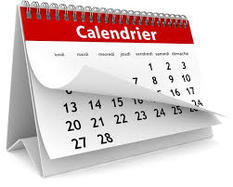 calendrier concours 2020